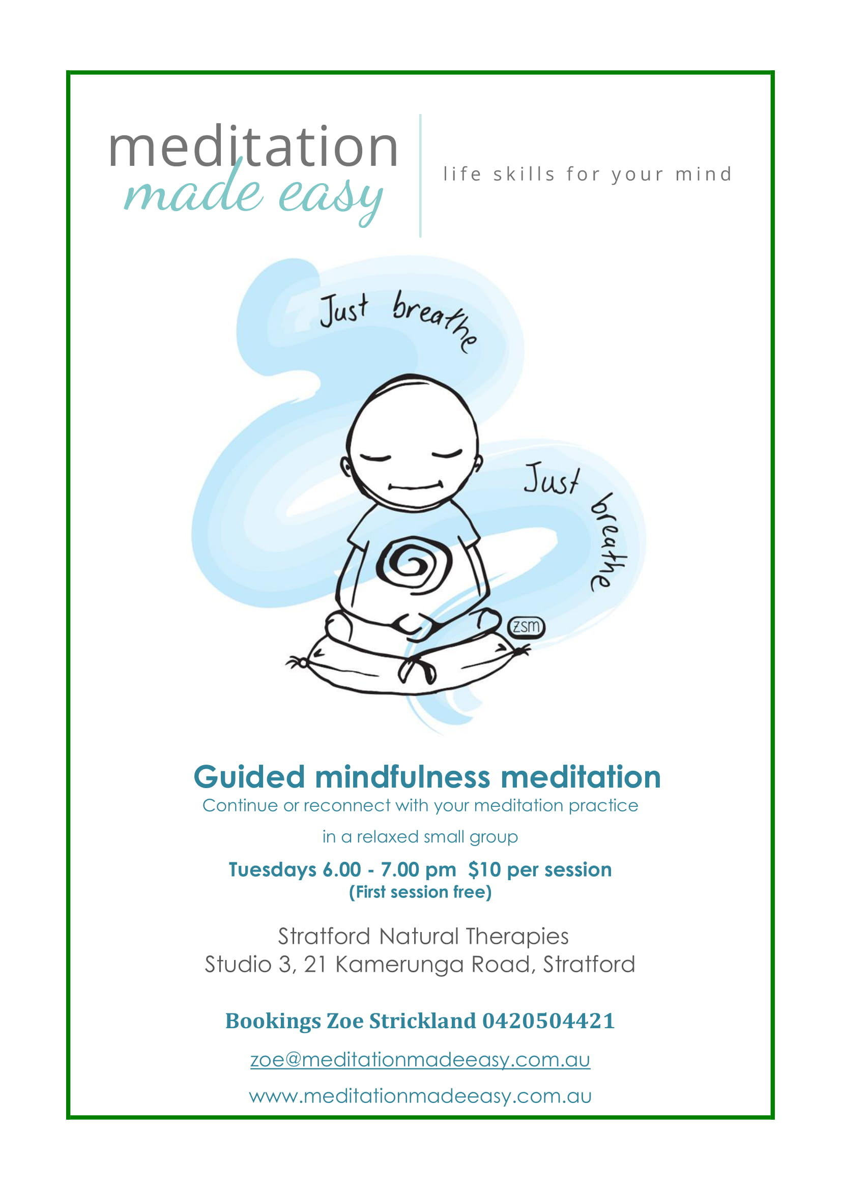 Guided Meditation Workshop